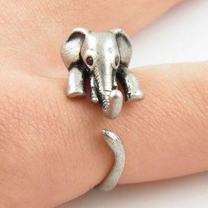 Little Elephant Wrap Ring